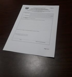 external company registration forms