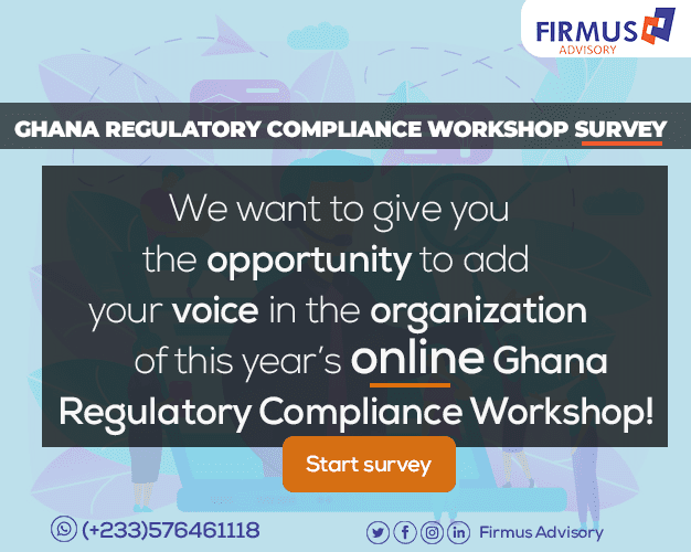 Ghana Regulatory Compliance Workshop Survey - 2020.